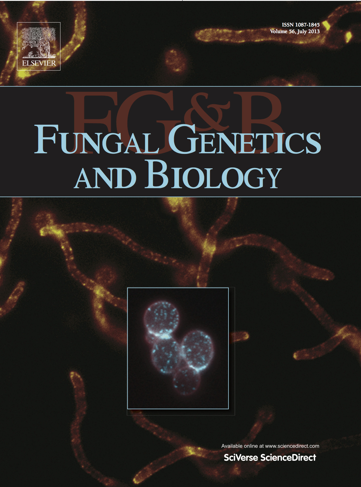 Fungal Genetics and Biology cover